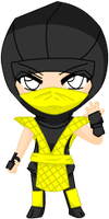Request:  Chibi Scorpion by Stolen-Dreamer
