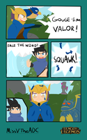 LoL contest FACE THE WIND VALOR! by SpeedNinja2