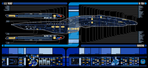 U.S.S. Theurgy NX-79854   LCARS MSD by Auctor-Lucan