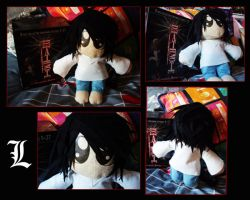 :-'L' Plushie-: by Arkeresia
