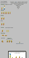 Lisa Simpson Sprite Sheet 2 by bandicoota