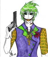 The Joker by CrimsonHarlequinn