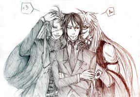 Threesome anyone by Sanzo-Sinclaire