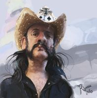 Lemmy Kilmister - MotorHead by ricardown