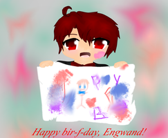 Happy Birthday, Engwand! by Ask-2pChibiAmerica