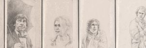 Drawing Doctor Who Project- October by Atarial