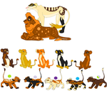 Adoptable Breedable Set One - OPEN by Kyoushi