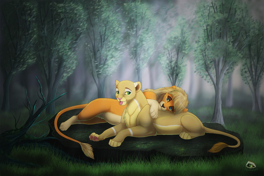 A world for two by SoloLioness