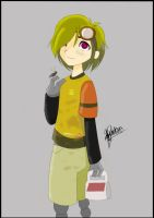 Humanized Wall-e by SaddlePatch
