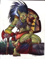 Murdera the troll by lizspit