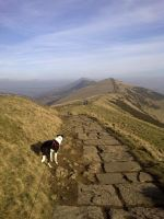 up to mam tor by Duckmad