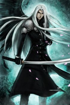 FF7 - Sephiroth by Ninjatic