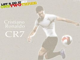 Cristiano Ronaldo Wallpaper by gahhstar
