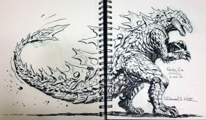 My Godzilla by Mecha-Zone