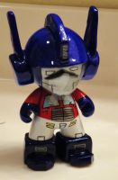 Optimus Prime Munny by mightyquarfoth