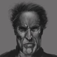Clint Eastwood by Moestitia