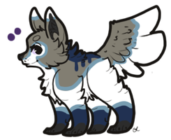 Rain of the Soul x Fluffy Poof by EnchantedAdopts