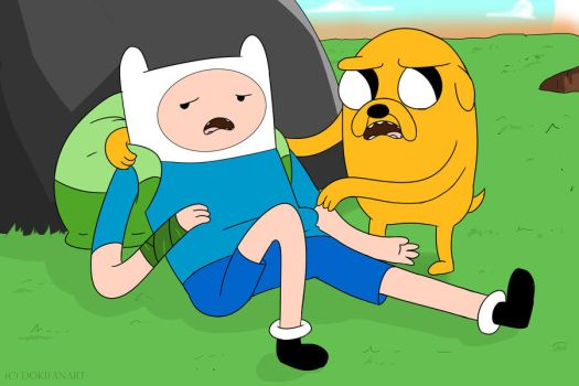 Adventure Time: Finn and Jake by DokiFanArt