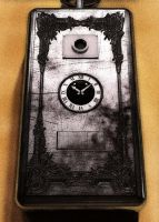 WIP: steampunk mobile phone by Technohippy