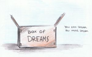 The Box Of Dreams Says by Provass