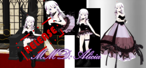 MMD: Alicia + download by Chibi-Baka-San