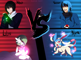 Vincent VS Neo -Collab- by SouOrtiz