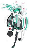 Miku's Everywhere by JellyLemons