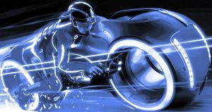 TRON Legacy Paint By Number Art Kit by numberedart