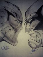 Spiderman and Wolverine by ryanhuya