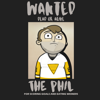 The Phil - Wanted Poster by cityfolkwebcomic