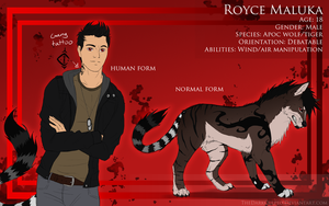 Royce Maluka quick ref (OUTDATED) by TheWiggleKing