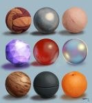 Drawing Practise: Materials and their Properties by IgnazioDelMar