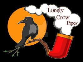 Lonely Crow Pipes logo by SolitaryRonin