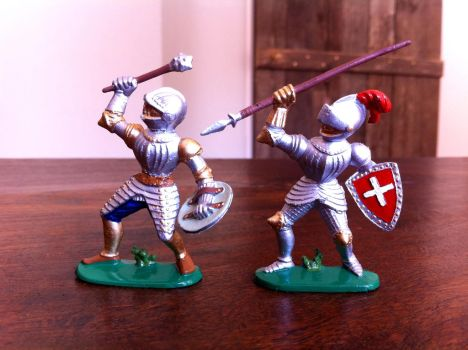 Jean Hoefler knights 2 by Dewfooter