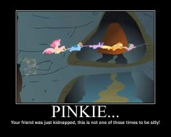 Pinkie Pie Motivational by CrossoverPrincess
