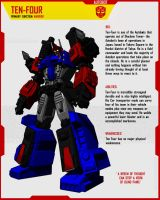 AUTOBOT TEN-FOUR by F-for-feasant-design