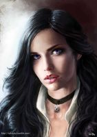 Yennefer of Vengerberg by NikiVaszi