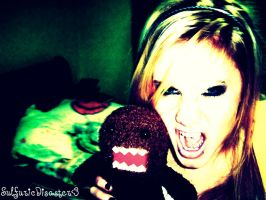 Moi and DOMO by SulfuricDisaster