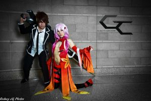 Guilty Crown: Inori and Shu by RodneyJGPhotos