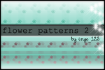 Flowerpatterns 2 by inge123