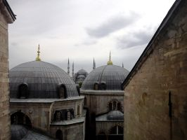 Blue Mosque by Vybral