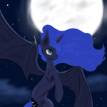 Luna is a little batty by Muffinsforever