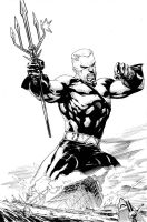 Flashpoint Aquaman Cover by airold