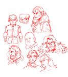 Game of Thrones doodles by gahyo