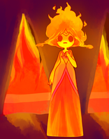 FLAME PRINCESS by tearzahs