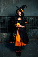 Halloween Lolita Witch 3 by Enolla