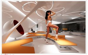 Future interior 2 by Bussi3DArtStudio