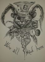 We're All Mad Here by CausticKreature