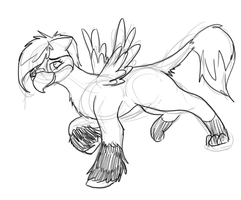 STASH CLEANING: Teh Gurl Griffin Pony Mix by Tatta-doodles