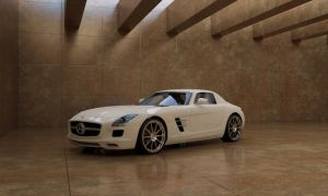 Mercedes-Benz SLC Gullwing by jazzthieflk